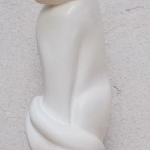 Li Ching stone cat sculpture