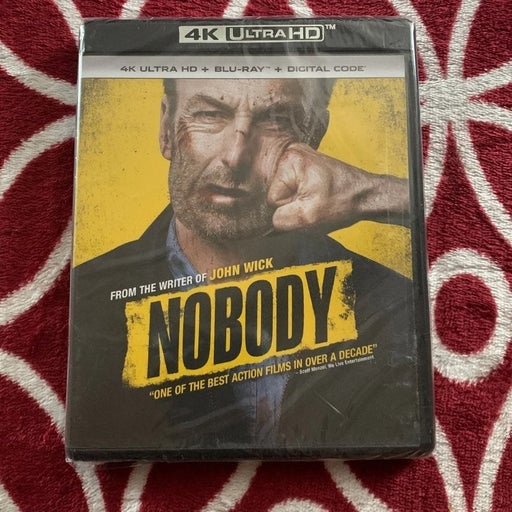 Nobody 4K Ultra HD + Bluray