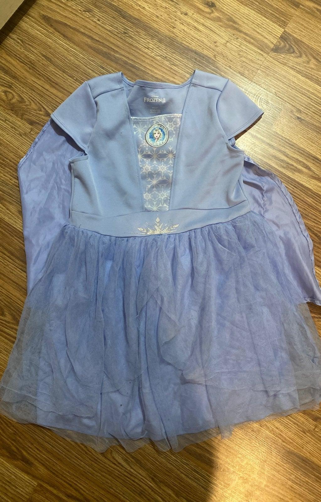 Frozen 2 elsa dress with detachable cape