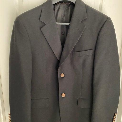 Men's Suit, Black (M) - Covington