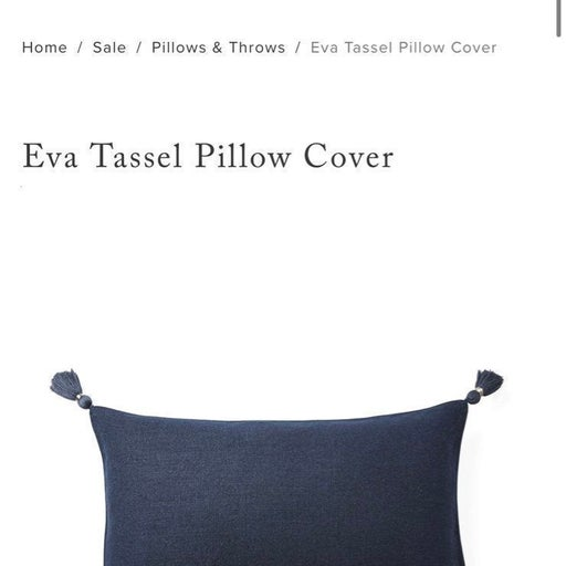Serena and Lily Eva tassle cover set of