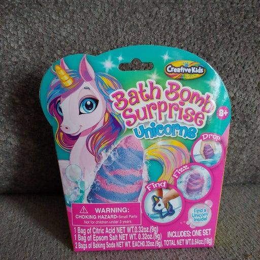 New Creative Kids unicorn bath bomb