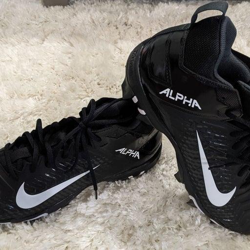 Nike Alpha Menace 2 Shark Cleats Sz 10.5
