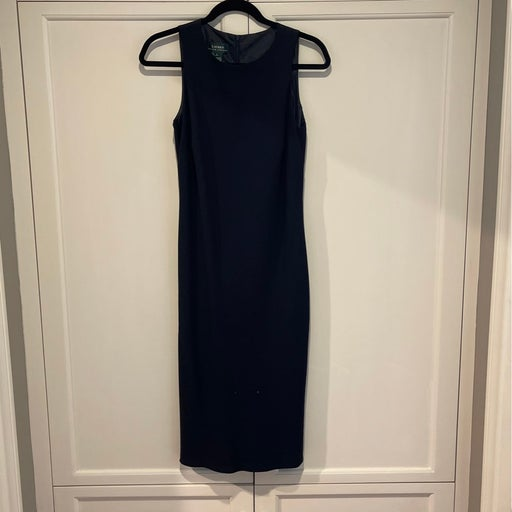 Ralph Lauren Black Dress - 6