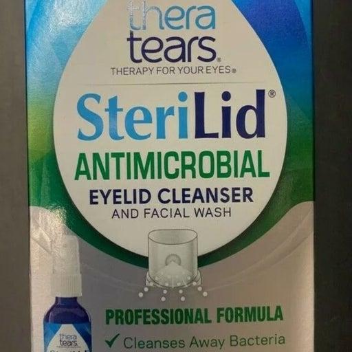 Thera tears Sterilid eyelid cleanser!