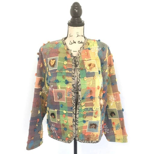 Crystal Small Jacket Handwoven Vintage