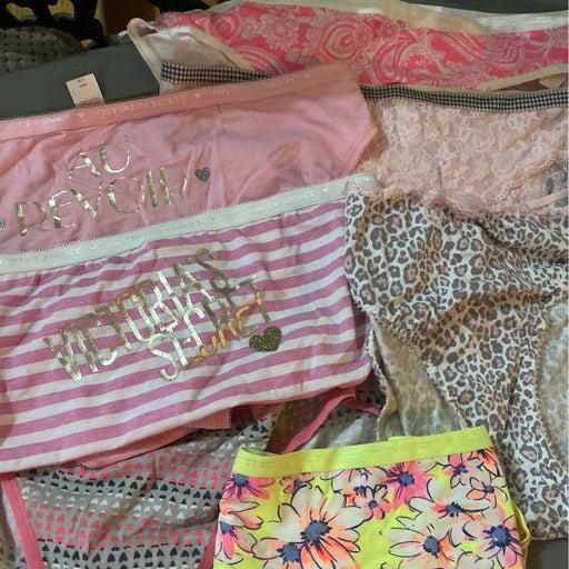 Victoria's Secret bikini panties large 7 pair