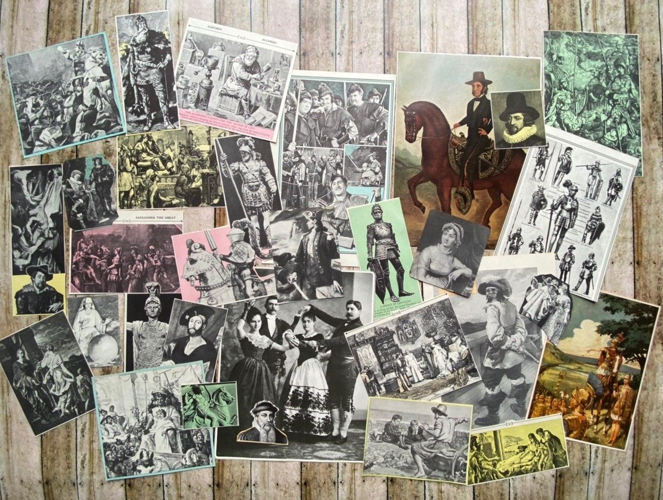 ephemera, lot,Renaissance, victorian