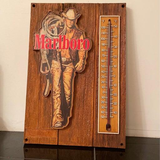 Vintage Marlboro Man Thermometer