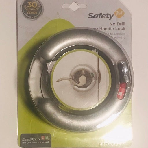 Safety First No Drill Lever Handle Lock