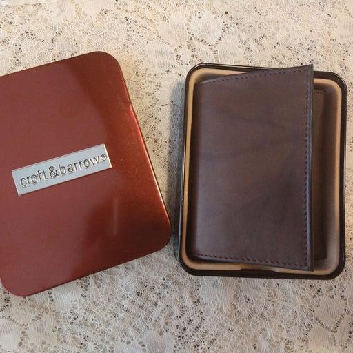 Men croft&barrow wallet