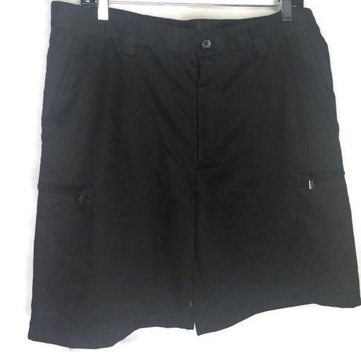 Golf Shorts Zip Cargo Pockets Size 34