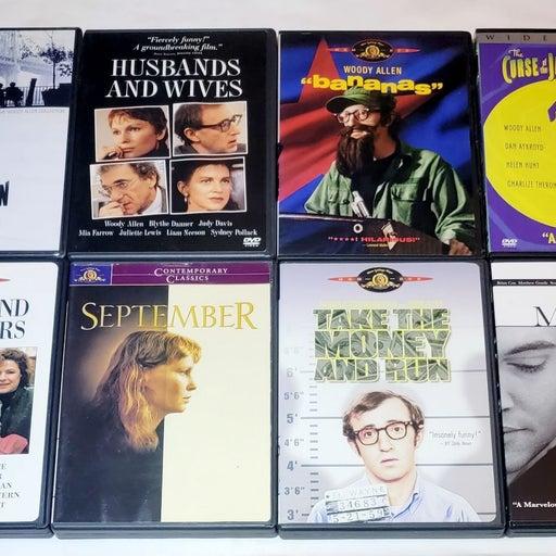 Woody Allen 8 DVD Lot Bananas, Manhattan