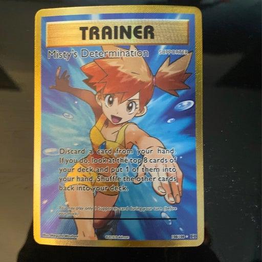 Mistys determination pokemon card
