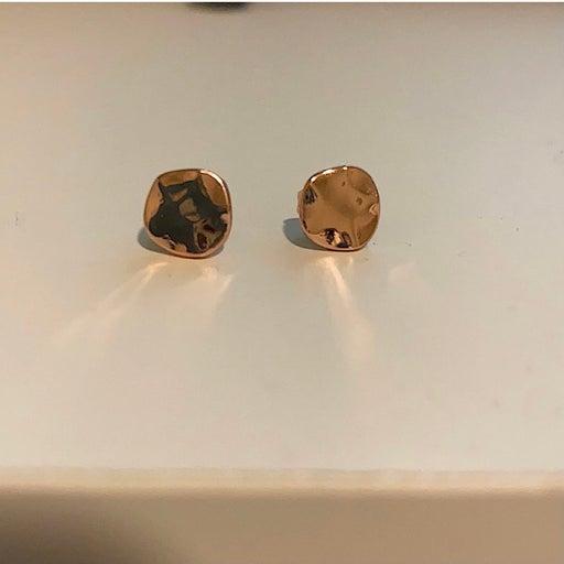 Gorjana Rose Gold Chloe Stud Earrings