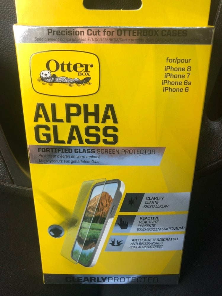 Alpha glass screen protector