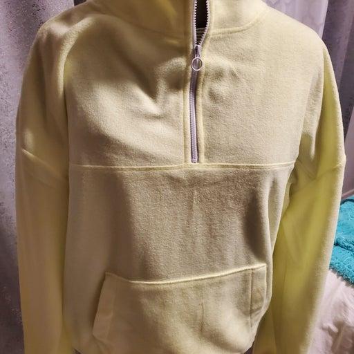 Neon Yellow Pullover sweatshirt