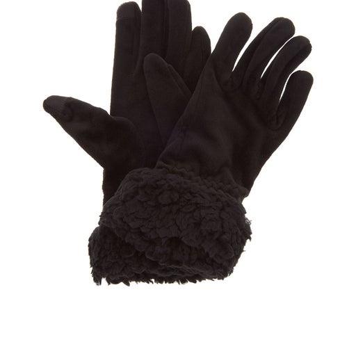 Cuddl Dudd Gloves w/ Faux Sherpa Cuff