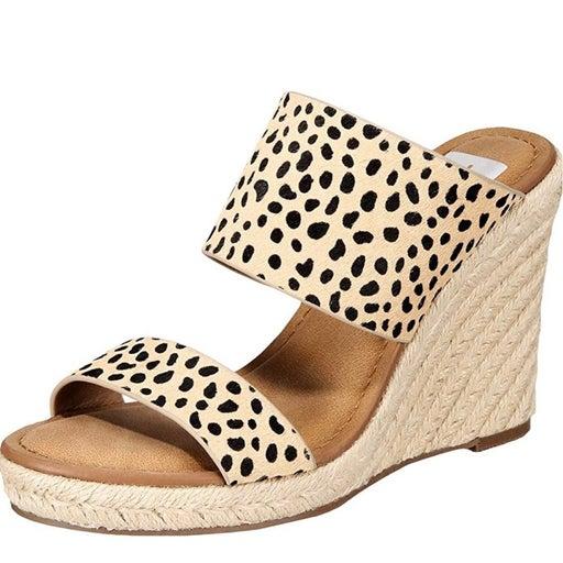 DV Dolce Vita Cheetah Wedge Sandal 9