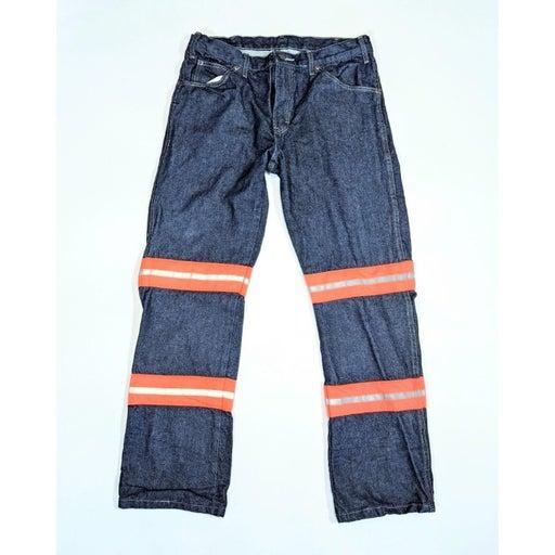 Dickies Men 33x32 Work Jeans Reflective