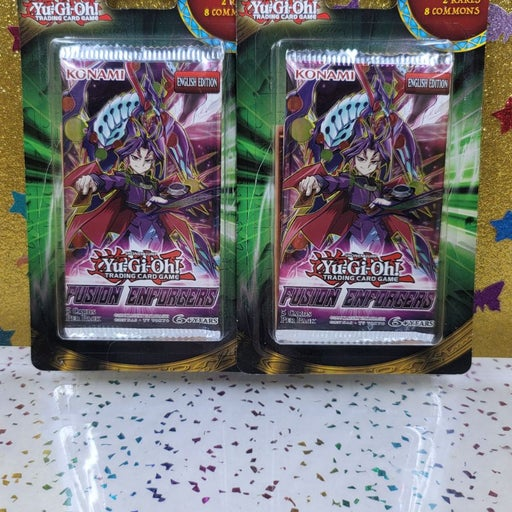 2 Yugioh booster packs Fusion Enforcers