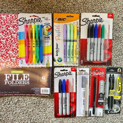 Sharpie Planner Pens & Markers, Office Supplies