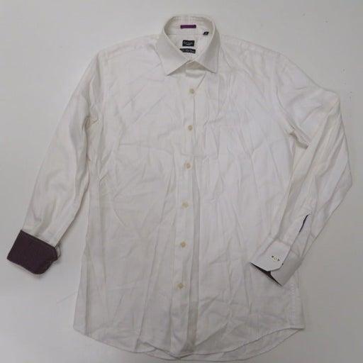 Paul Stuart Dress Shirt 16 - 38 White