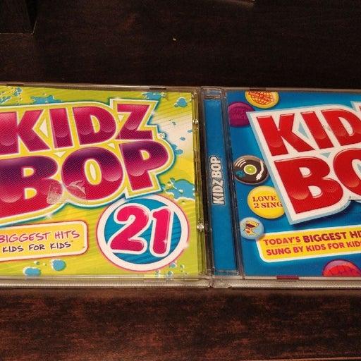 Kidz bop 21 and 22 CD