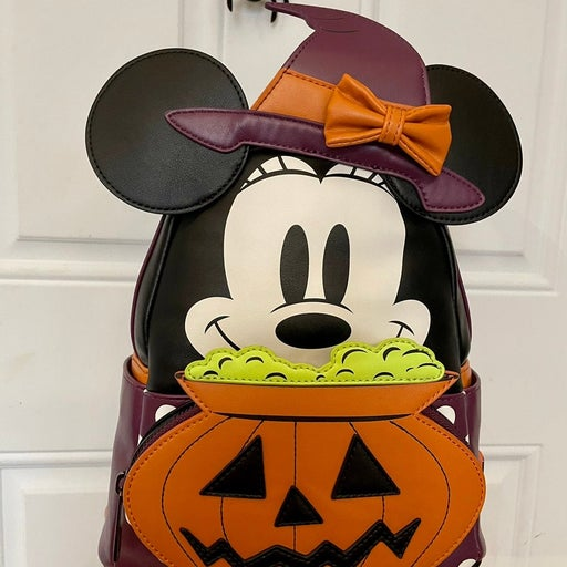 Loungefly Minnie Mouse Witch Backpack