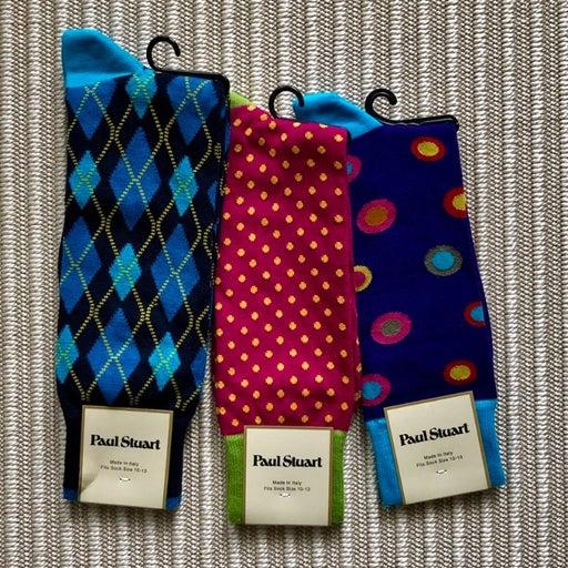 Mens Crew Socks - Bold Colors Bundle