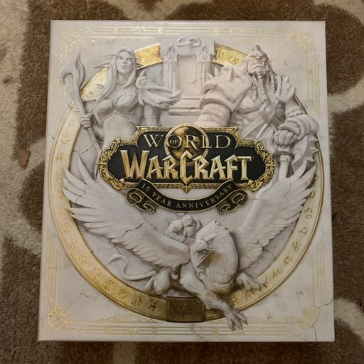 World of Warcraft 15th Anniversary Physical Items
