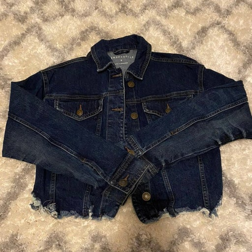 cropped jacket
