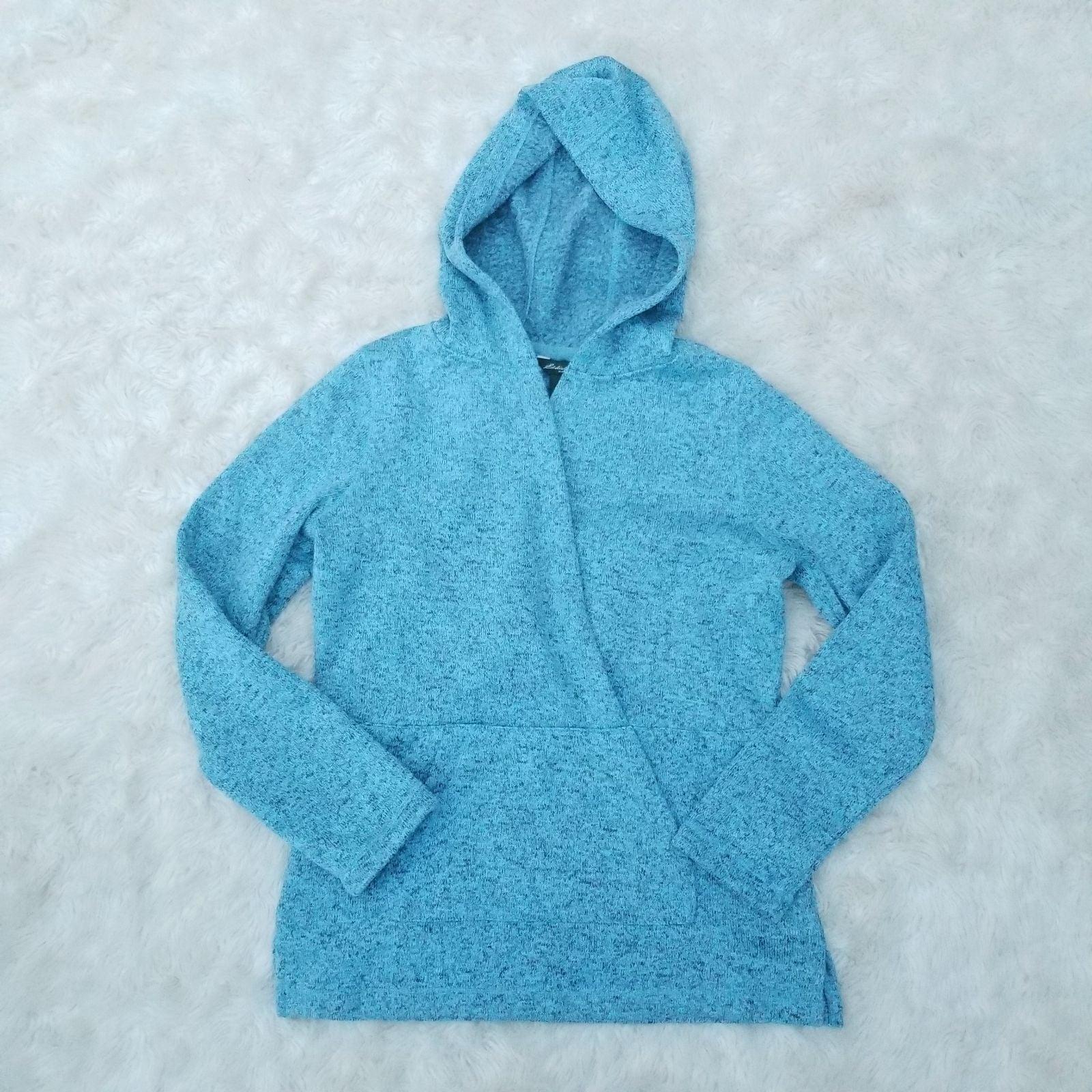 Eddie Bauer surplice hooded sweater S