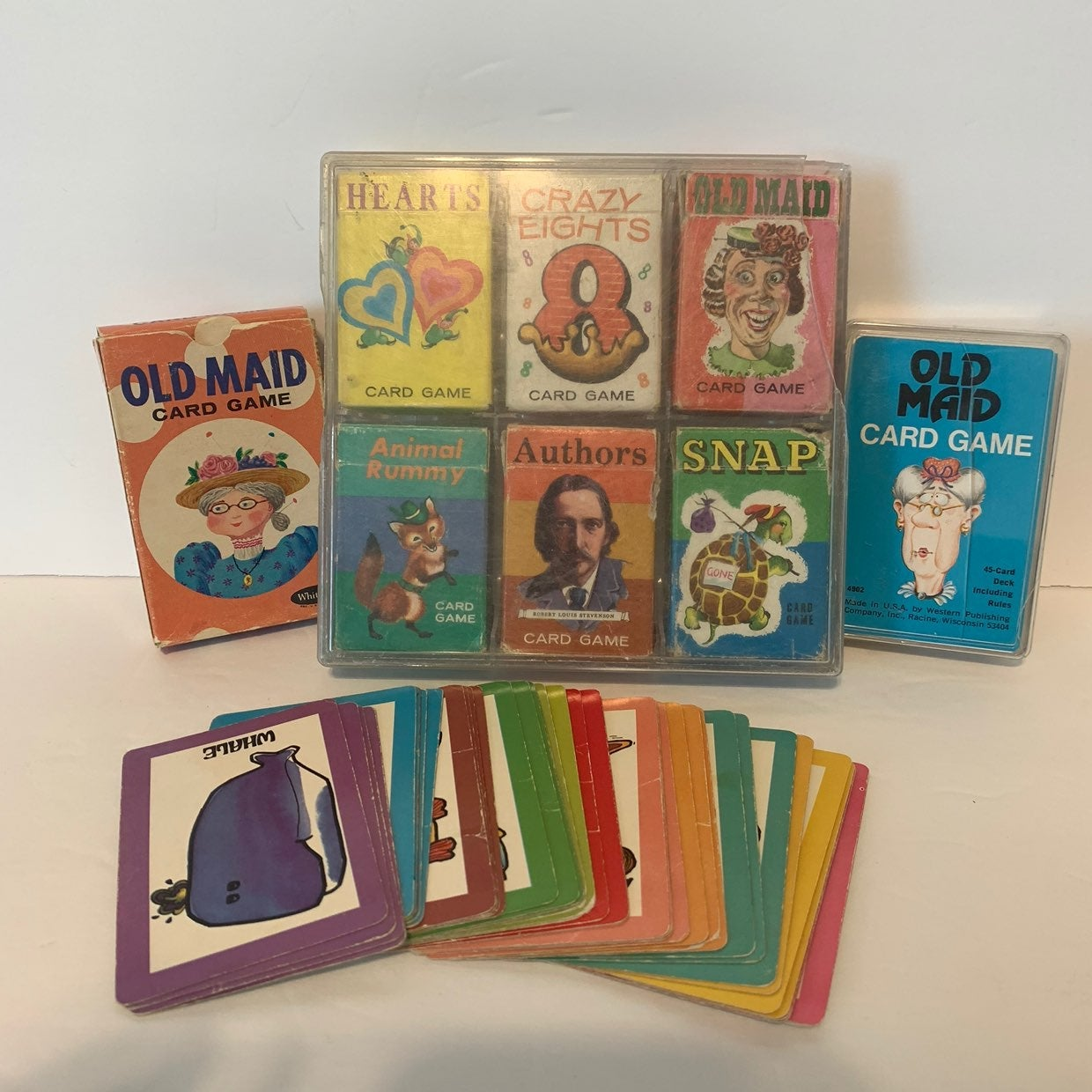 Vintage Whitman Card Games