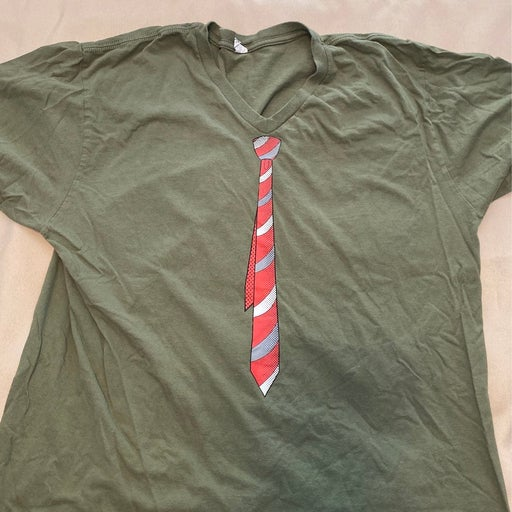 shirt, with tie?