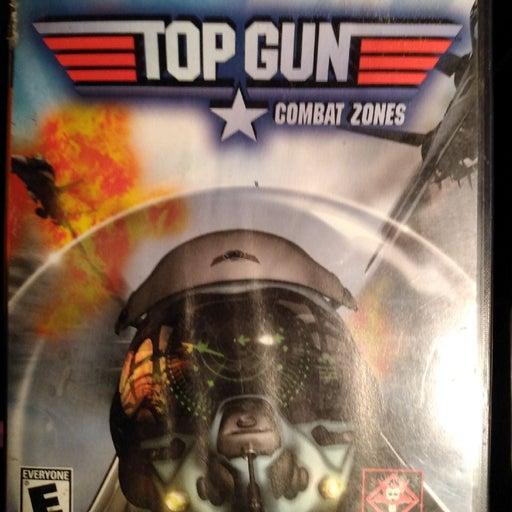 PlayStation 2 game Top Gun combat zones