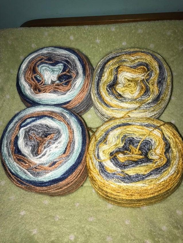 Herrschners pastry petite yarn