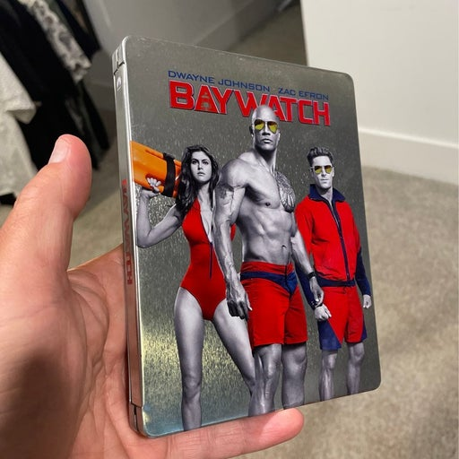 Baywatch collectible Blu-ray and Steelbook