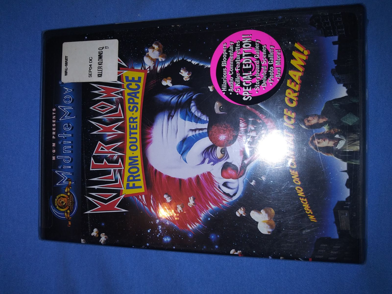 killer klowns from outer space dvd