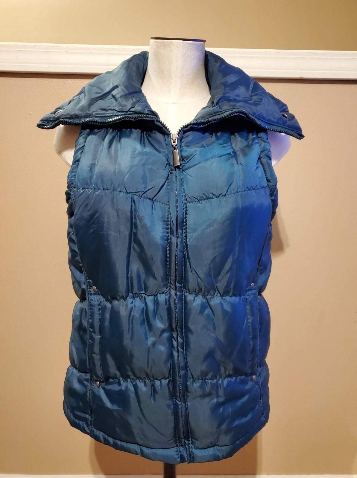 Sea green Laura Scott Puffer Vest