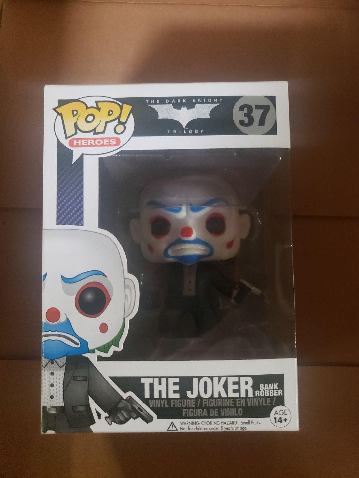 The Joker BANK ROBBER Funko 37 see pics