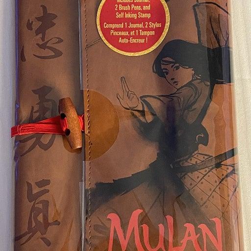 Disney Mulan Journal Set NWT