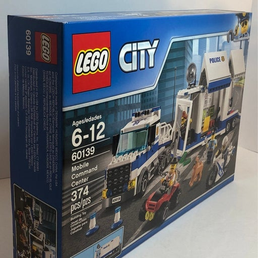 LEGO City:  Mobile Command Center 60139