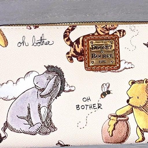 Disney Classic Winnie the Pooh Dooney & Bourke Wallet