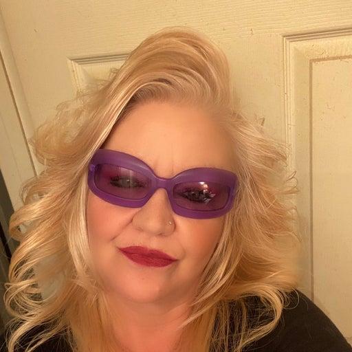 Chanel Vintage Purple Sunglasses