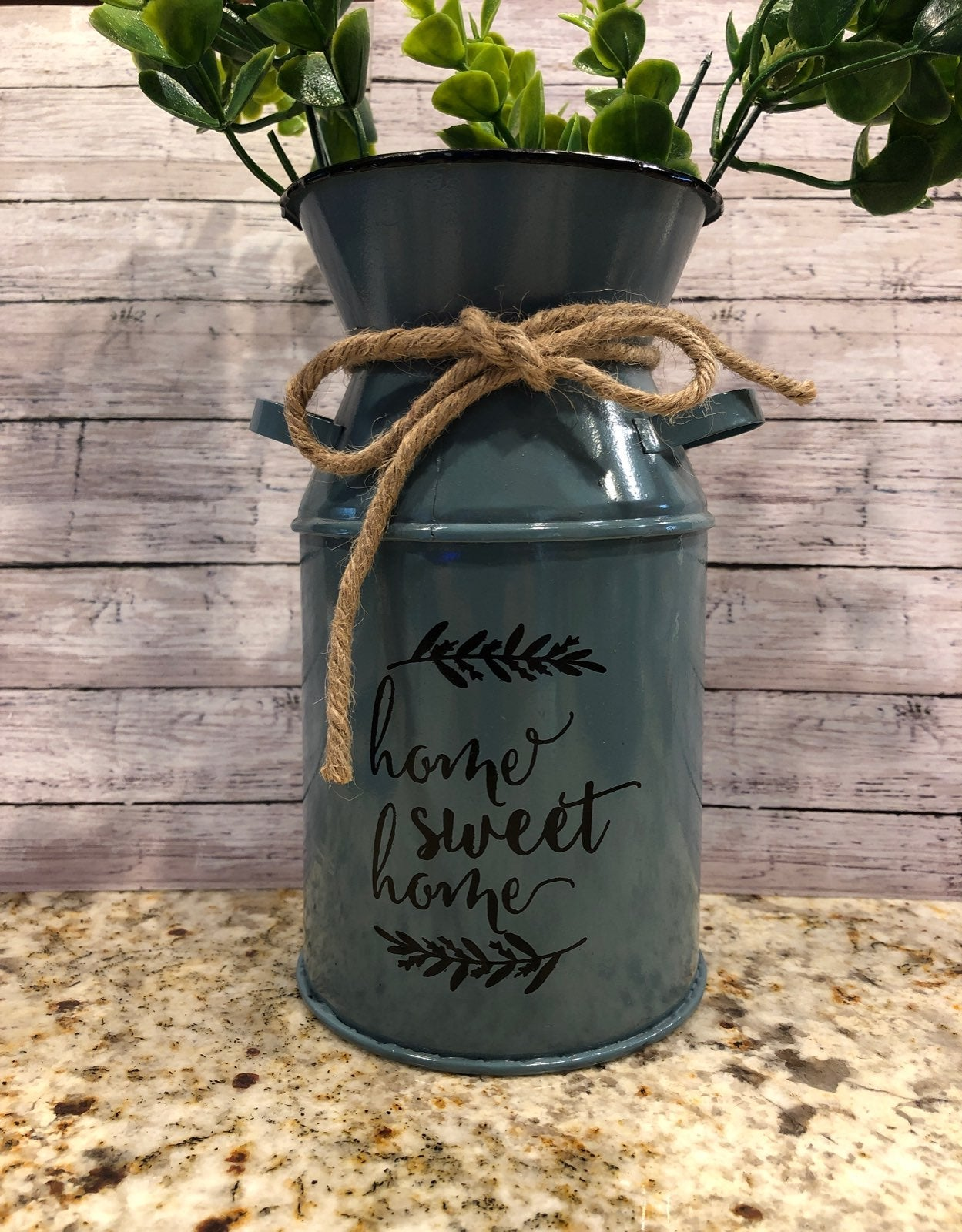 Farmhouse Home Sweet Home Tin Container