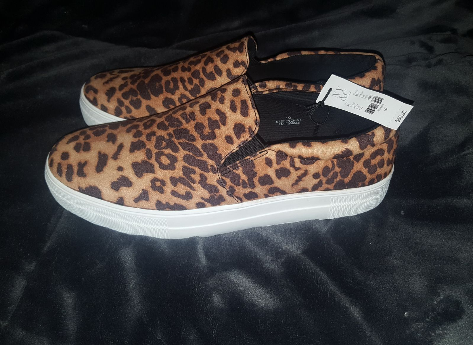 Nwt leopard shoes ny&c size 10
