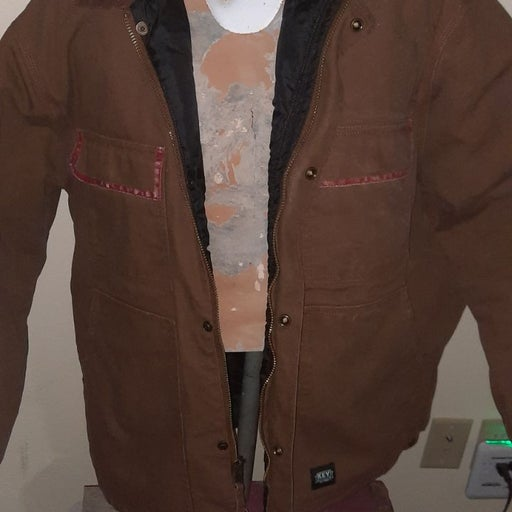 Men's KEY Canvas Jacket, XLR
