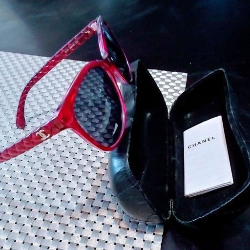 CHANEL cat eye sunglasses for women