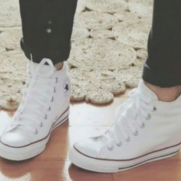 Converse Hidden Wedge Shoes | Mercari